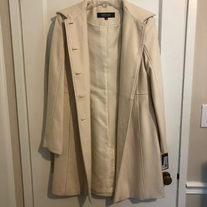New Kenneth Cole Reaction Winter White Coat
